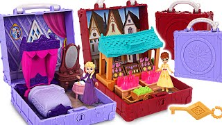 Frozen2 Elsa, Anna Pop-up Handle Playset! Catch the thief Minion! | PinkyPopTOY