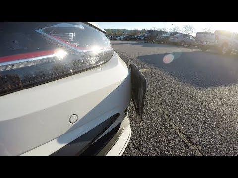 MK7.5 GTI CravenSpeed Tow Hook License Plate Install!