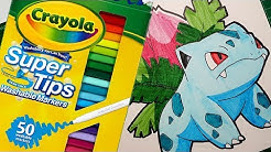 Crayola super tips review & testing cheap art supplies