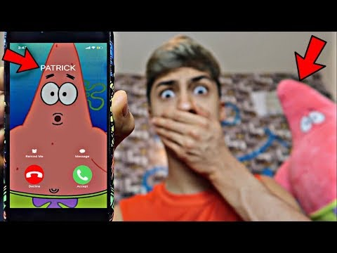 CALLING PATRICK STAR *OMG HE CAME TO MY HOUSE*
