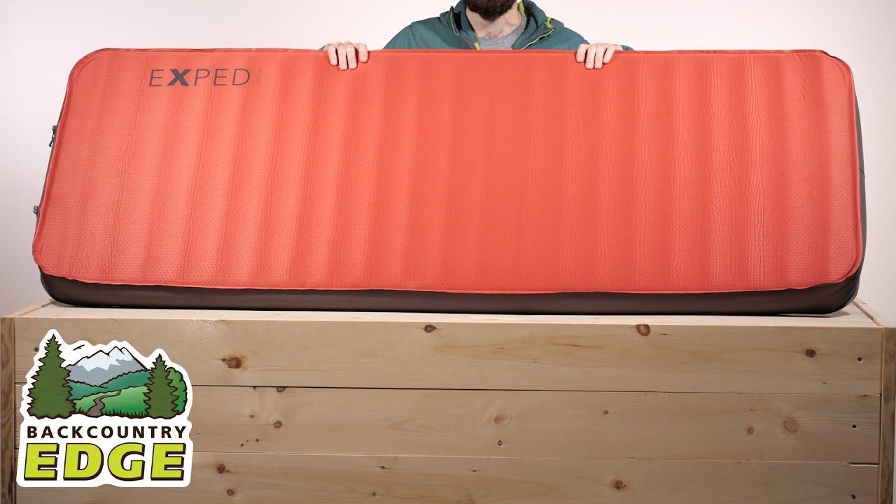 Gästebett Exped MegaMat 10 Sleeping Mat Mens Unisex Camping Mat Matress Airbed New