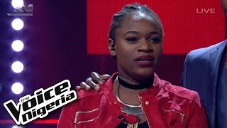 """Brenda sings """"All About That Bass""""/ Live Show / The Voice Nigeria 2016"""