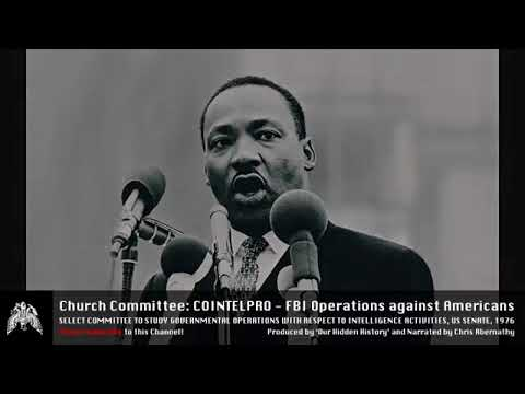 US Senate - Church Committee Hearings [1975]: COINTELPRO B3 S1a