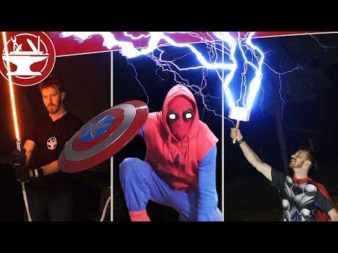 50+ SUPERHERO GADGETS IN REAL LIFE!