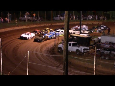 Winder Barrow Speedway Stock 4 Cylinders B's Feature Race 7/20/19