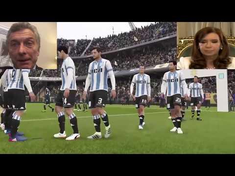 Macri vs Cristina - Fifa 18
