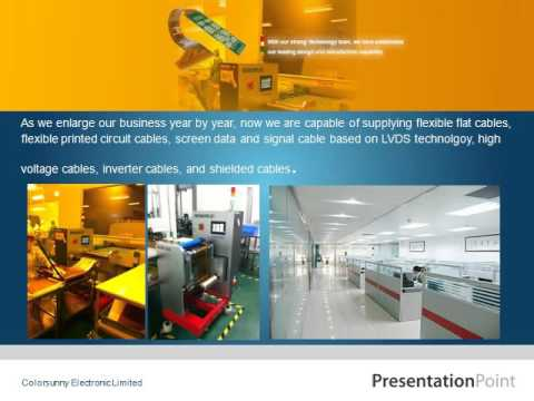 Colorsunny Electronic Limited Presentation