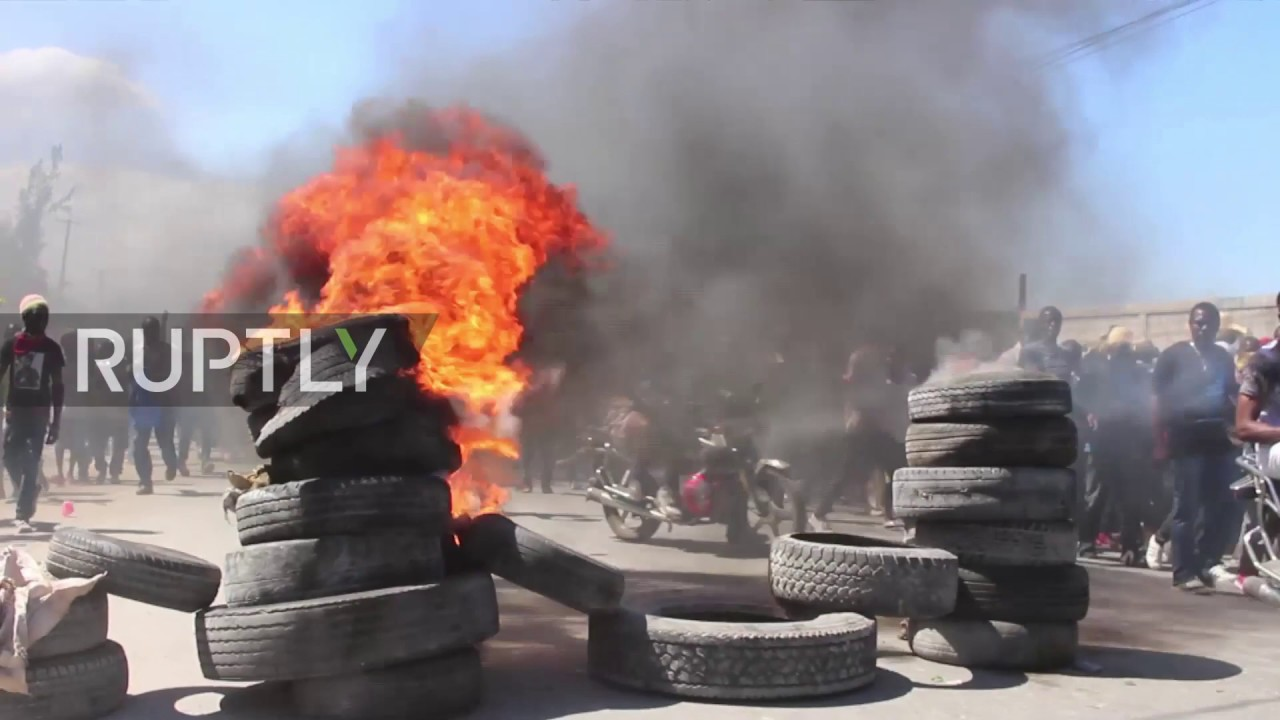 Haiti: Dozens injured as anti-government protests continue in Port-au-Prince