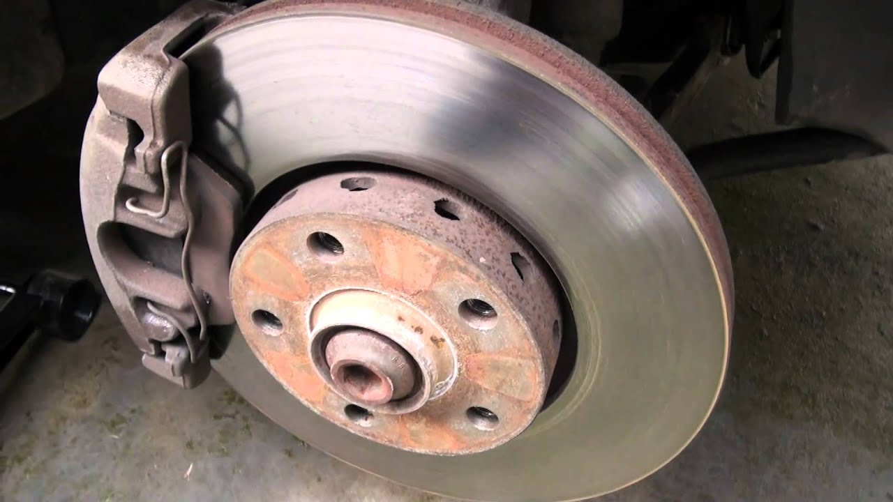 Audi A4 Front Brakes Youtube