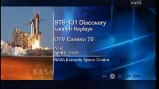 STS-131 launch replay