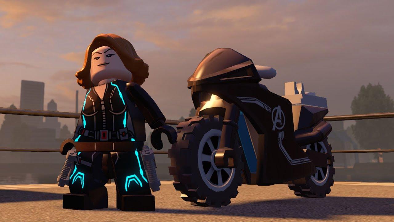 LEGO Marvel's Avengers - Black Widow & Her Vehicle ...
