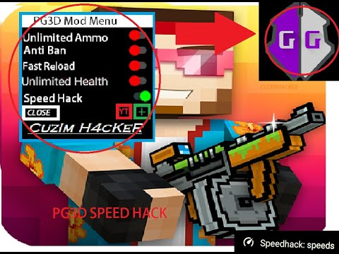 *Speed Hack* In Pixel Gun 3D! Working 2020!😱😱😱