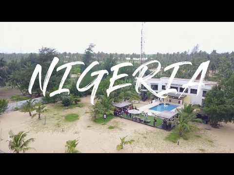 Drone flight through Lagos, Nigeria