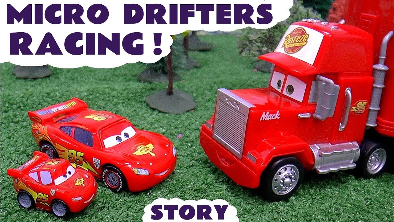 Disney cars lightning mcqueen and avengers micro drifters - Juguetes disney cars ...