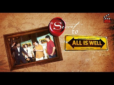 All Is Well - Abhishek Bachchan reveals 'The secret' | Asin | Umesh Shukla | Exclusive Interview