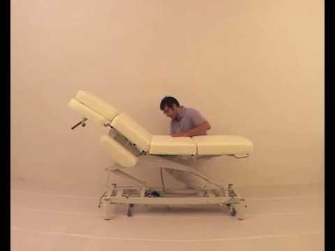 Table de massage electrique mod le simple medigam youtube - Chaise massage electrique ...