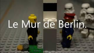 L'histoire du mur de Berlin en Lego