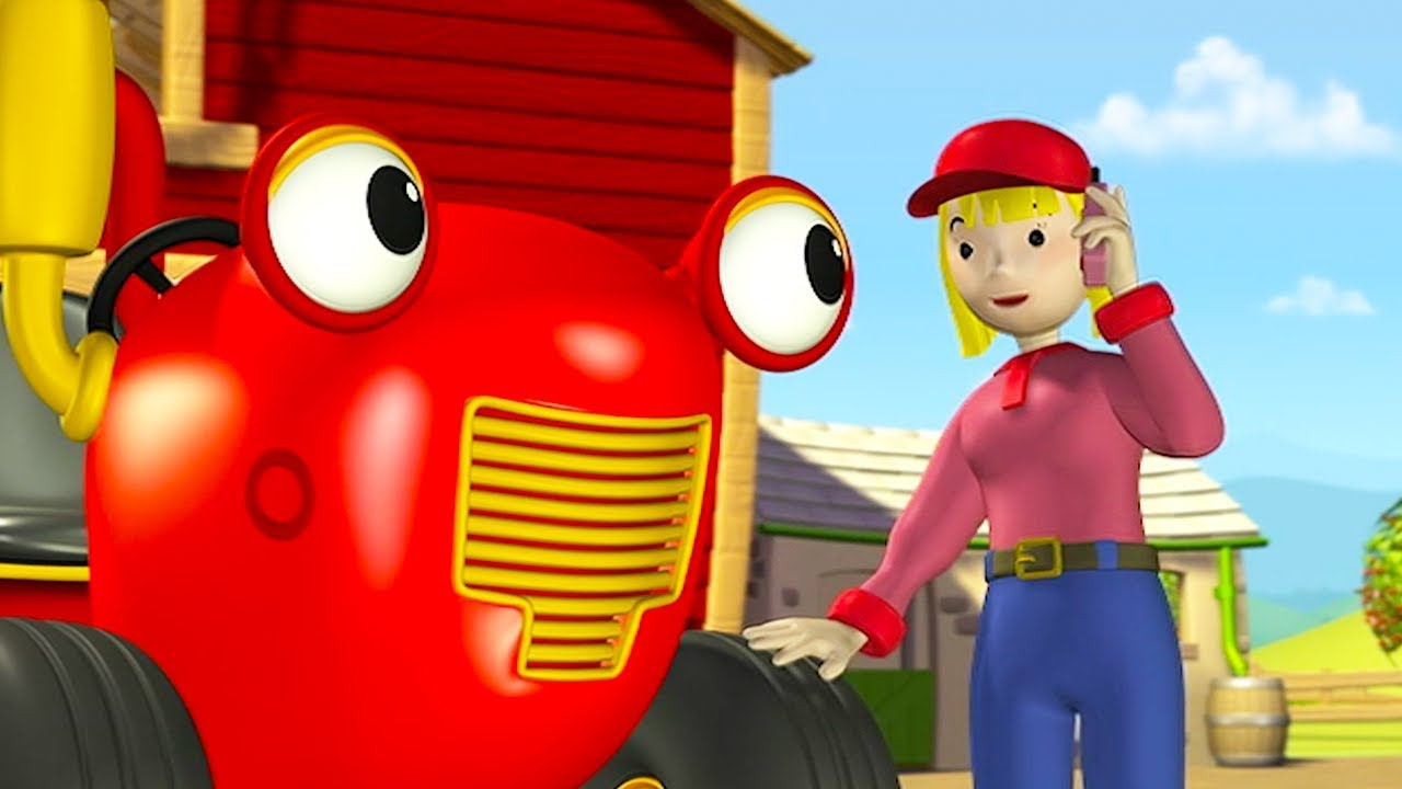 Tracteur tom un t l phone qui cancane dessin anime pour enfants tracteur pour enfants - Tracteur tom dessin anime ...