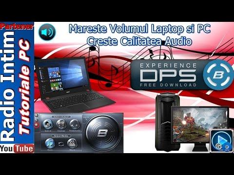 Mareste Volumul Laptop si PC - Creste Calitatea Audio