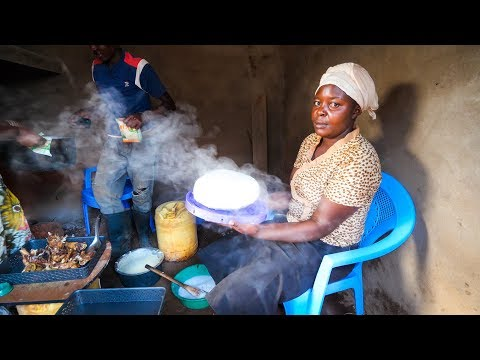 Village Food in East Africa - FREE-RANGE KFC (Kenya FRIED CH