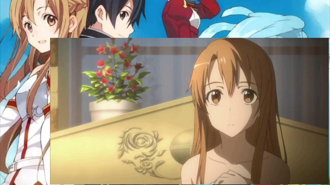 Fandub Sword Art Online Asuna And Kirito Kiss 2 2