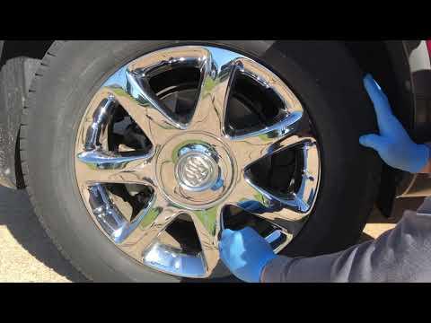 How to clean car wheels rims chrome