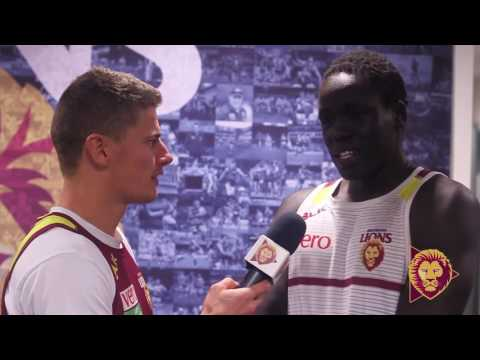 Zorko talks to Reuben