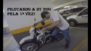 O REI DA MOBILETE VAI PILOTAR A DT200R ENVENENADA!