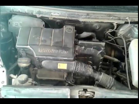 Mercedes w168 fuel injector or engine sound problem for Mercedes benz fuel injector problems