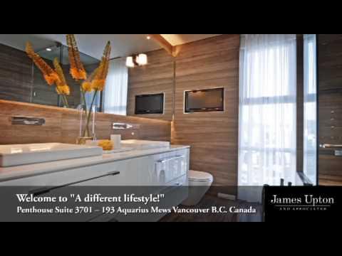 Penthouse Suite 3701 -- 193 Aquarius Mews Vancouver B.C. Canada