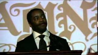 Curtis Martin acceptance speech at A Midwinter Night