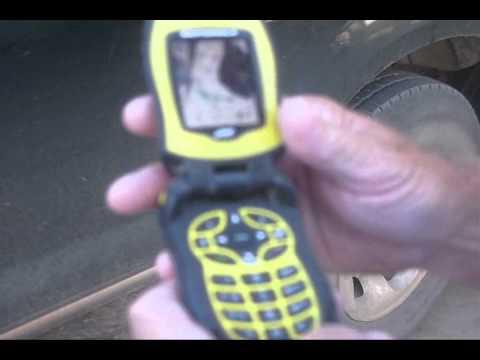 Running Over the Motorola i580 Tough Guy