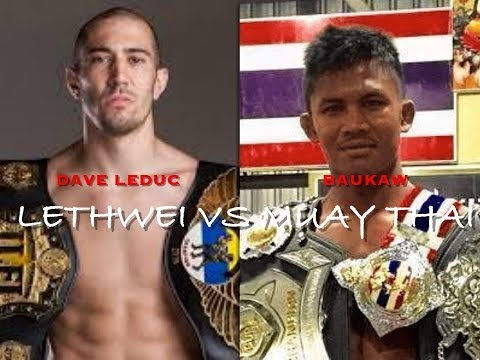 Dave Leduc Gives A Warning To Buakaw |
