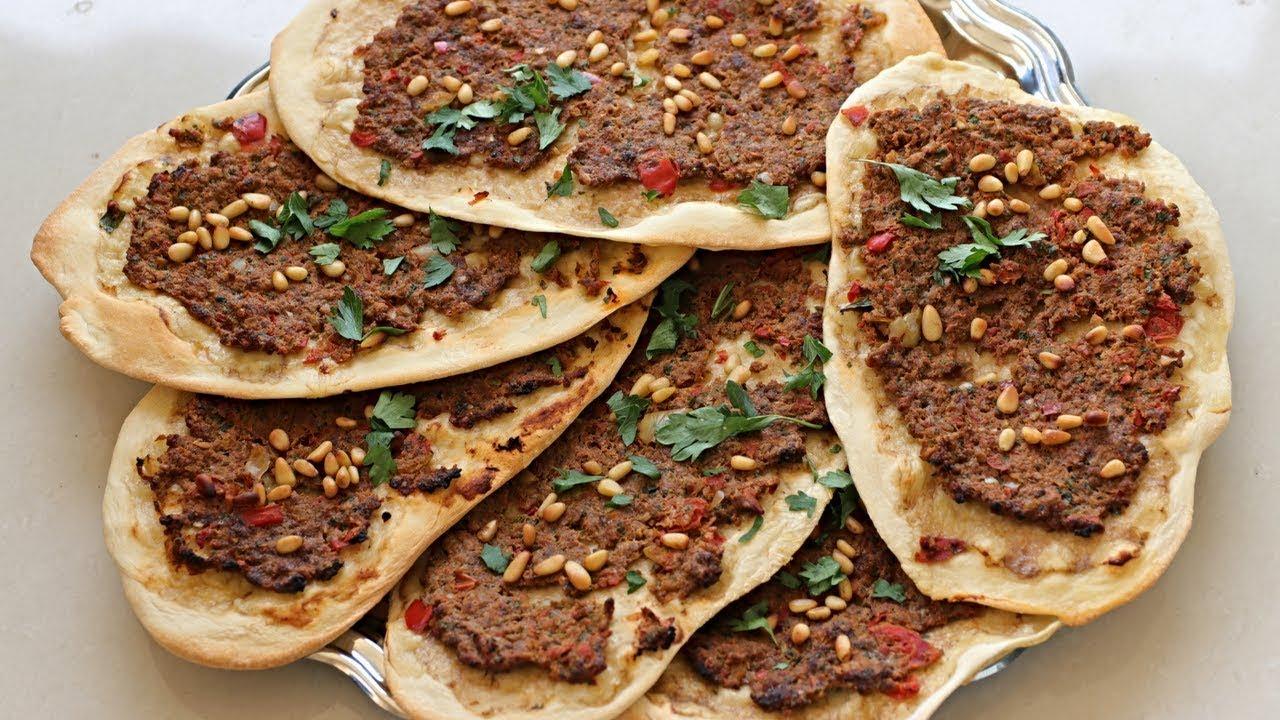Lahmacun - Turkish Meat Pizza Recipe