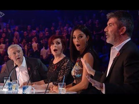 The Judges GANG-UP on Louis Walsh in Clash Over Sam Black's Performance | The X Factor UK 2017