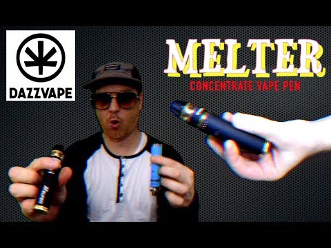 DazzVape Melter concentrate pen – Unboxing, review & instructions