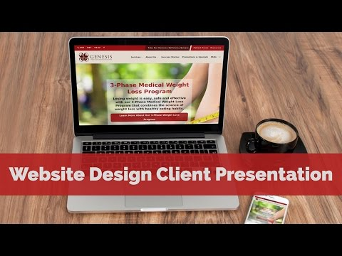 Website Design Client Presentation - Doctor / Weight Loss Clinic in Brooksville (Hernando), Florida