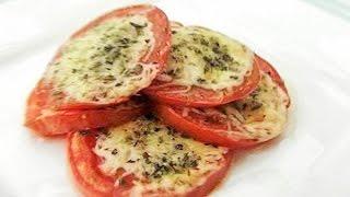 Жареные помидоры.