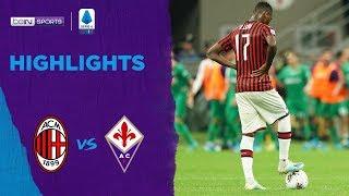 Milan 1-3 Fiorentina | Serie A 19/20 Match Highlights
