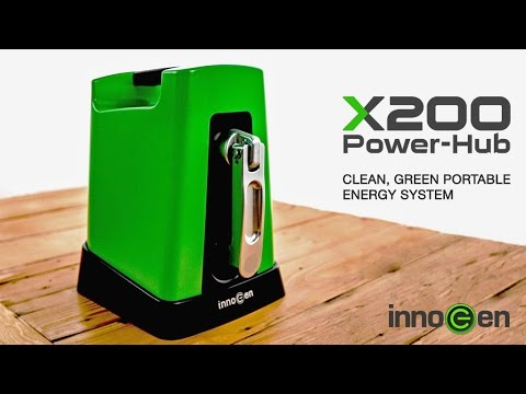 X200 Power-Hub | Clean, Green Portable Energy System