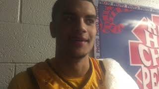 Wyoming's Justin James talks UNLV loss, severity of ankle injury