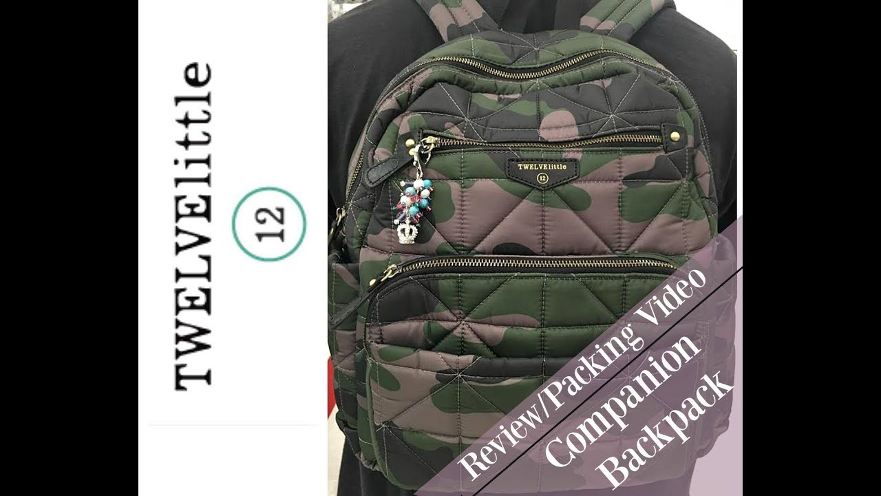 a063f403cd5e Review Packing Video I TWELVElittle Companion Backpack - YouTube
