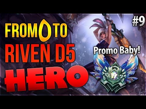 From 0 to D5 Riven Hero: Promo Baby! #9 [League of Legends] [Deutsch / German] thumbnail