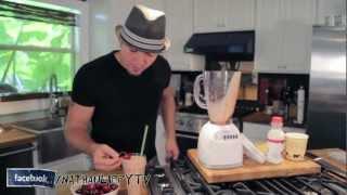 Dessert - Nathan Lippy's Crash Course #3 - Nutella Banana Vanilla Milkshake