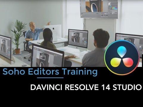 Davinci Resolve Training London
