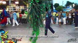 Carnaval de Rio 2011 Beija Flor championne - claudia raia