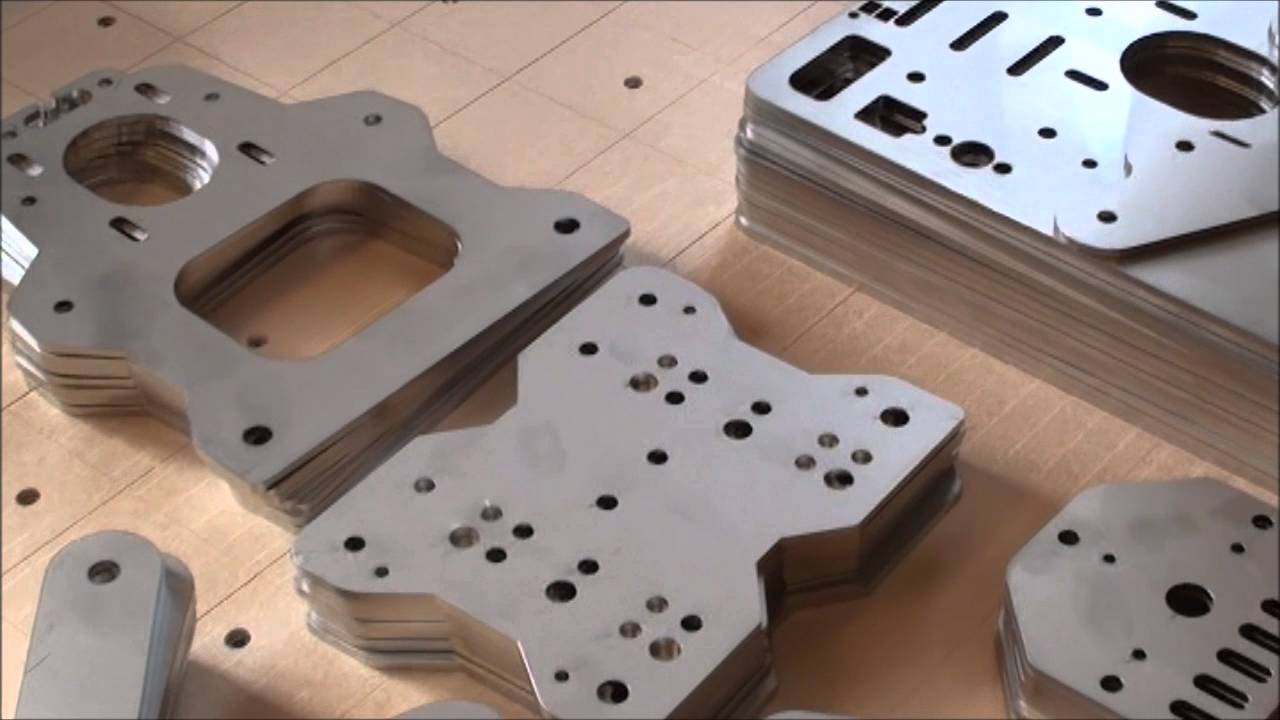 New Batch Of Laser Cut Gantry Plates For Stainless Ox