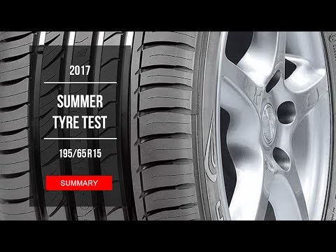 2017 summer tire test results 195 65 r15 youtube. Black Bedroom Furniture Sets. Home Design Ideas