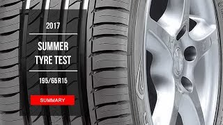 2017 Summer Tire Test Results - 195/65 R15