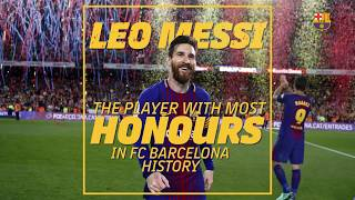 Thanks to the 1-2 win against sevilla in final of spanish super cup played tangier, morocco, leo messi has become player with most honours ...
